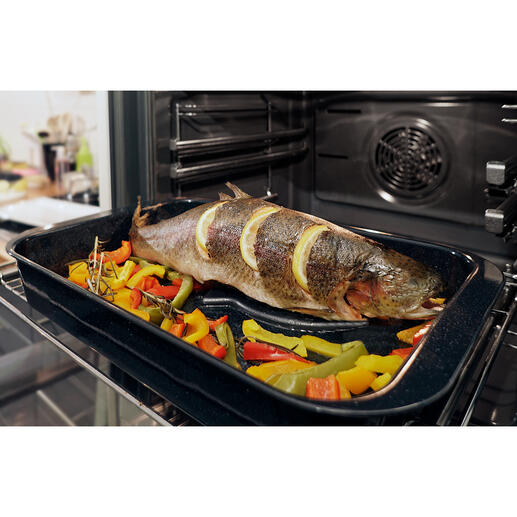 Eurolux® Fischhalter Preisgekrönt: der ideale Fischhalter für Backofen und Grill.
