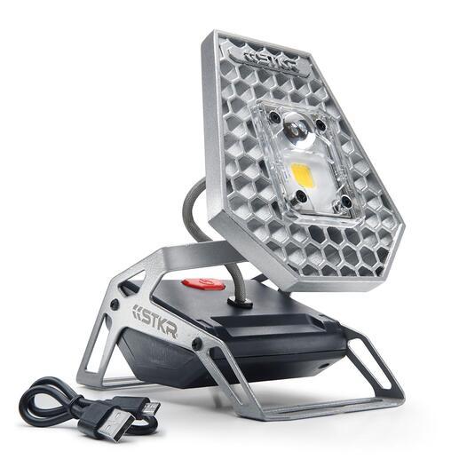 KabelloserLED-Strahler Mobile 1.200 Lumen (!) Flutlicht. Ohne Stromanschluss. Ohne Kabel.
