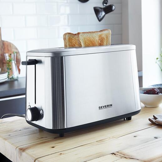 Turbo-EdelstahltoasterAT2513 Der vermutlich schnellste Toaster der Welt.