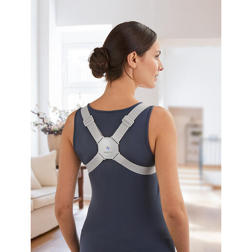 MAXXMEEHaltungstrainer Der geniale Haltungstrainer mit vibrierendem Winkel-Neigungssensor. Für einen geraden Rücken und mehr Stabilität.
