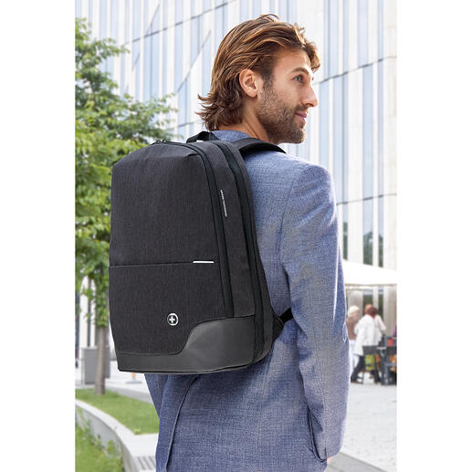 TakeCareRucksack Business-Rucksack neuester Generation: RFID-geschützt, stylish und smart.