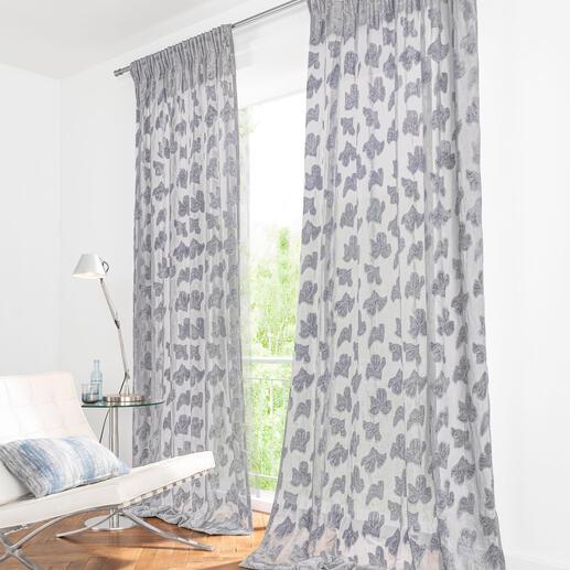 Vorhang Perla - 1 Stück Seltene Kombination: Moderner Lässig-Look und traditionelle Webkunst. Von Sahco.
