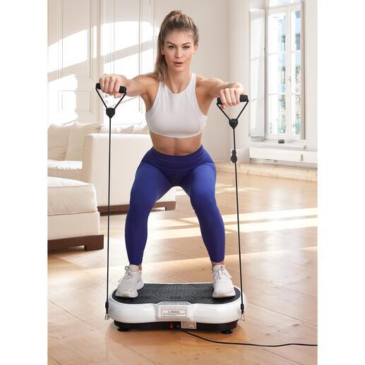Vibrations-Trainingsplatte Jetzt noch effektiver: Ihr Vibrations-Trainer auf kleinstem Raum. Modernste Oszillations-Technologie. Zum sehr guten Preis.