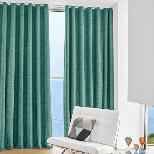 Vorhang Marques - 1 Stück Neu aus der JAB Anstoetz-Kollektion. 90%ige Verdunkelung – selten so dekorativ und wohnlich.