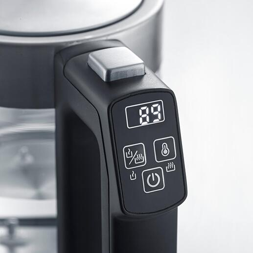 Mini-Wasserkocher mit Temperaturwahl