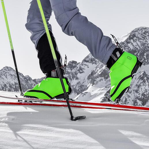 SNÜX® Ski-Überschuh Nie mehr kalte Füsse in Skischuhen. Ganz ohne Akku und Kabel. Der patentierte Hightech-Überschuh aus thermoaktivem Cozytech®.