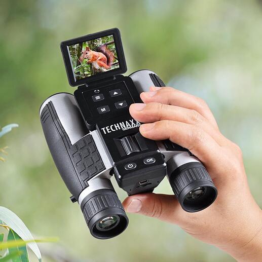Full HD-Fernglas TX-142 Hochpräzises Fernglas und FullHD-Camcorder zugleich.  Auf Tastendruck: einzigartige Videos und hochauflösende Fotos von weit entfernten Motiven.