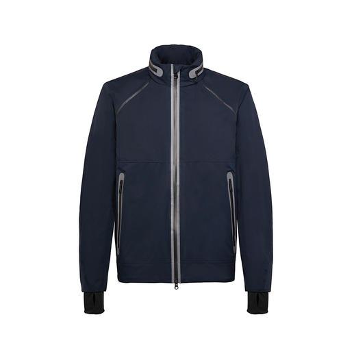 Geox Herren-XLED-Jacke Besser sichtbar für mehr Sicherheit: das Geox Lighting-Jacket mit LED-Lichtsträngen.
