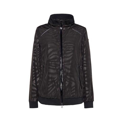 Geox Damen-XLED-Jacke Besser sichtbar für mehr Sicherheit: das Geox Lighting-Jacket mit LED-Lichtsträngen.
