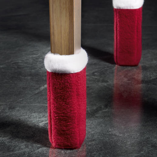 """Schön zur Adventszeit: Mit den """"Wukies"""" in Rot/Weiss stimmen Sie Ihr Ambiente weihnachtlich."""