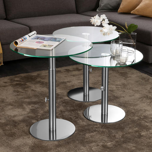 Glas Beistelltisch   Edles Design Für Unzählige Gelegenheiten Und Jedes  Ambiente.