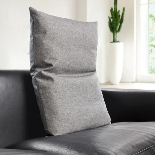 Bullfrog® Rückenkissen - Macht moderne Sitzmöbel noch bequemer. Behaglich gepolstert, mit 16fach verstellbarem Kopfteil.