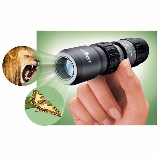 Luger Mini-Okular Qualität von Luger. 5-15fache Vergrösserung, auch im Nahbereich bis 30 cm.