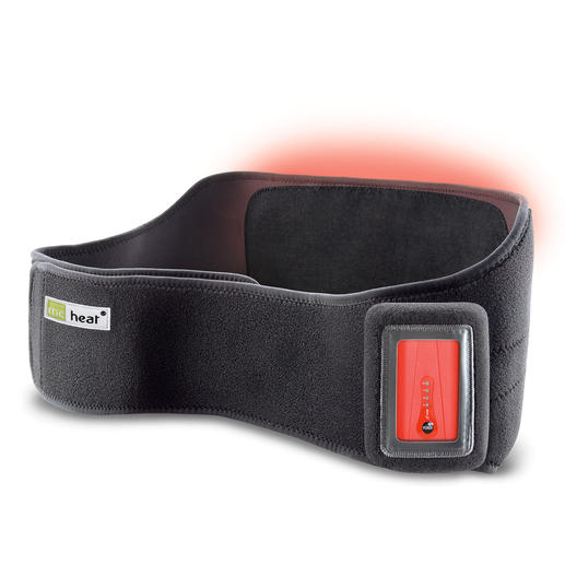 Infrarot beheizte Rückenbandage Auf Tastendruck wohltuende Wärme. Zu Hause und unterwegs. Mit modernster Infrarot-Technik.
