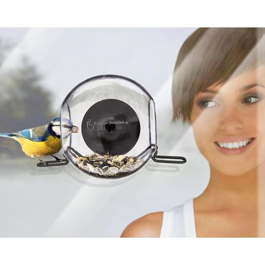 Vogelglocke, 2er-Set - Die Vogelglocke in prämiertem schwedischem Design. Ohne aufwändige Montage haltbar zu befestigen.