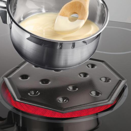 SimmerMat™ - Ideal zum schonenden Warmhalten und Aufwärmen ohne Anbrennen, ohne Überkochen.