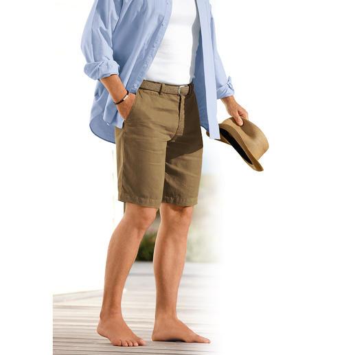 Henry Cotton's Leinen-Shorts - Shorts sind in – doch luftig-leichte aus Leinen schwer zu finden. Von Henry Cotton's.