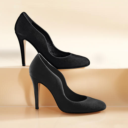 Olympic Velours-High-Heels - Must-have-Pumps in Top-Qualität, zum Top-Preis.