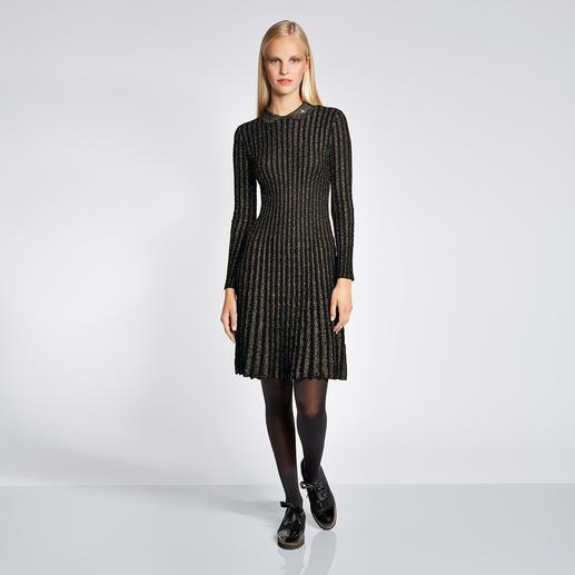 M Missoni Lurex-Strickkleid - High-Fashion-Strick mit angesagtem Lurex-Glanz – aber ohne Kratz-Effekt. Von M Missoni.