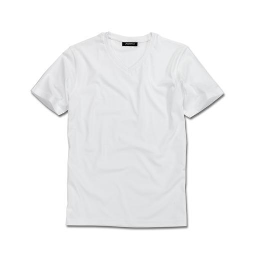 Karl Lagerfeld Basic-Shirts 2er-Set Das ideale Basic-Shirt: Puristisch schwarz oder weiss. Schlank geschnitten.