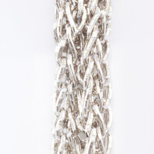 """XL-Strickkette Die Strickkette aus japanischem """"Papiergarn"""". Design Betty Gabrielle, Paris."""