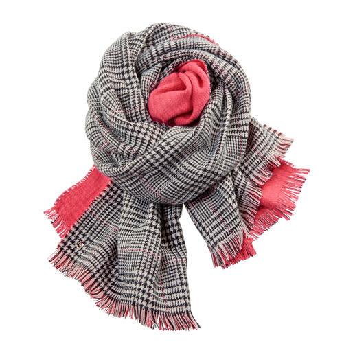 TWINSET Doubleface-Schal Fashion-Update für Ihre Jacken und Mäntel: Der Doubleface-Schal von Twinset.