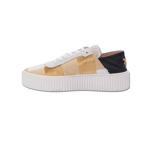 Pinko Mule-Sneakers 1 Sneaker – 2 Tragevarianten – 4 Trends: Der Mule-Sneaker vom italienischen In-Label Pinko.