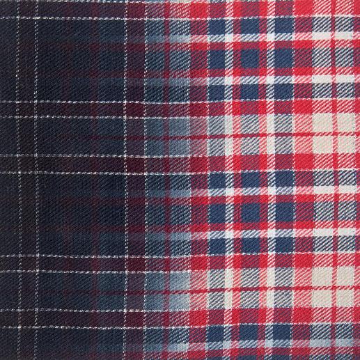 Zadig & Voltaire Karo-Schal oder Grunge-Dress Zadig & Voltaire beherrschen den Grunge-Trend wie kaum ein anderer: Romantisch rockiges Kleid mit typischem Karo-Tuch.