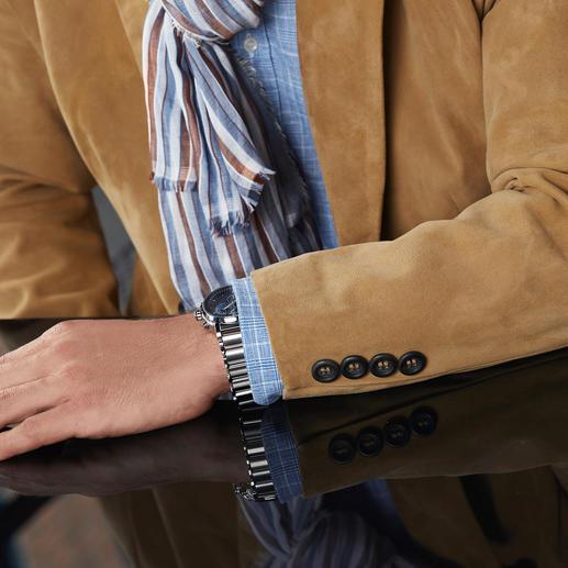 Cool Leather Rentier-Sakko 900 Gramm leicht, seidenweich und doch erstaunlich robust: Seltenes finnisches Rentierkalbvelours.