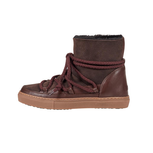 Slim-Line-Boots, Braun