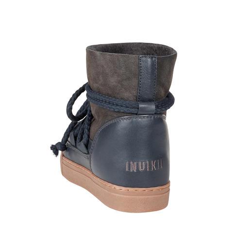 Slim-Line-Boots, Dunkelgrau