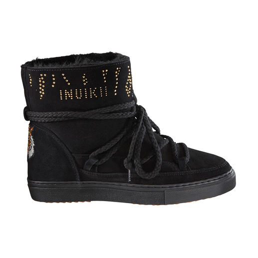 Glamour-Boots, Schwarz