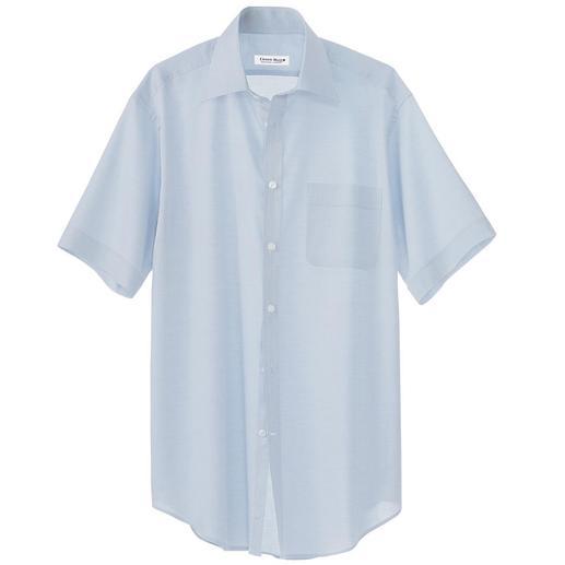Panama-Hemd Das luftige Panama-Hemd von Derek Rose of London. Besonders atmend, leicht und komfortabel.