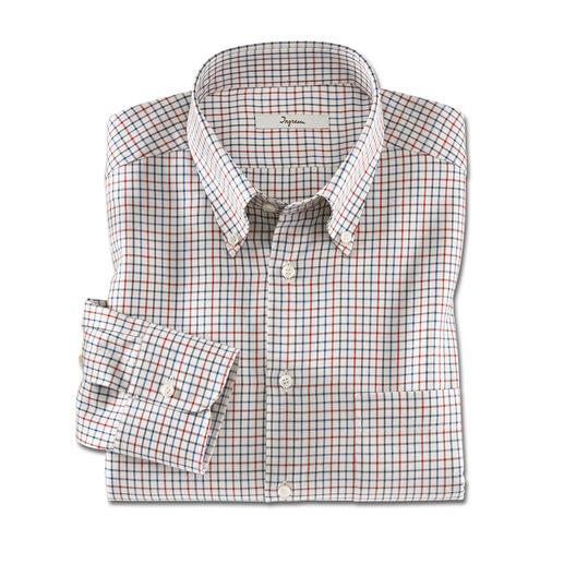 Ingram-Flanell-Hemd Albini Weich und wärmend wie Flanell – aber viel leichter und kombinierfreudiger.
