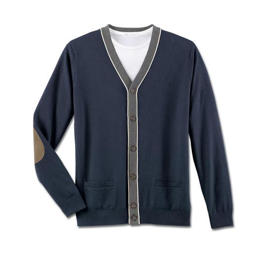 Inca Pima-Cotton Cardigan Leicht. Luftig. Weich. Und voluminös.