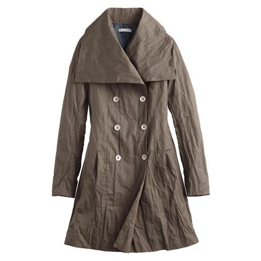 Floyd's Crash-Mantel, Fango - Der unkomplizierte Crash-Mantel ist von Natur aus geknittert – und gerade deshalb immer in Bestform.