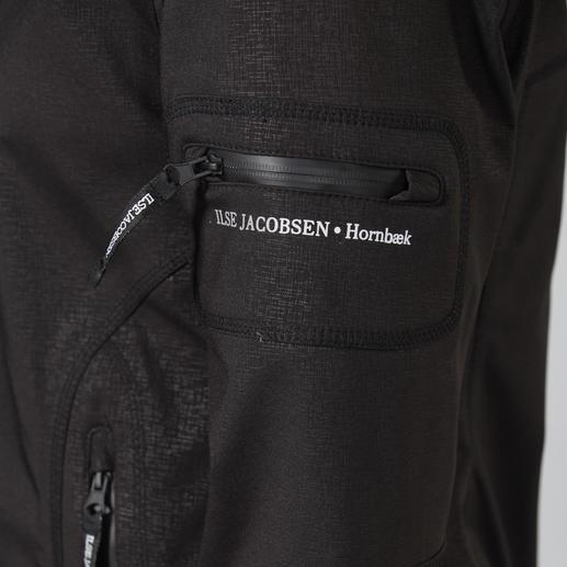 Ilse Jacobsen Raincoat Wasser- und winddichtes, atmungsaktives Softshell-Material. Dänisches Design. Von Ilse Jacobsen.