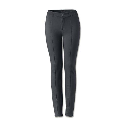 Cotton-Line Edel-Leggings - Bequem wie Leggings. Konfektioniert wie eine feine Tuch-Hose. Die Edel-Leggings von Cotton-Line.
