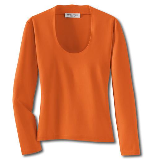 Blazer-Shirt Dieses pflegeleichte Shirt ersetzt ganz oft Ihre Bluse.