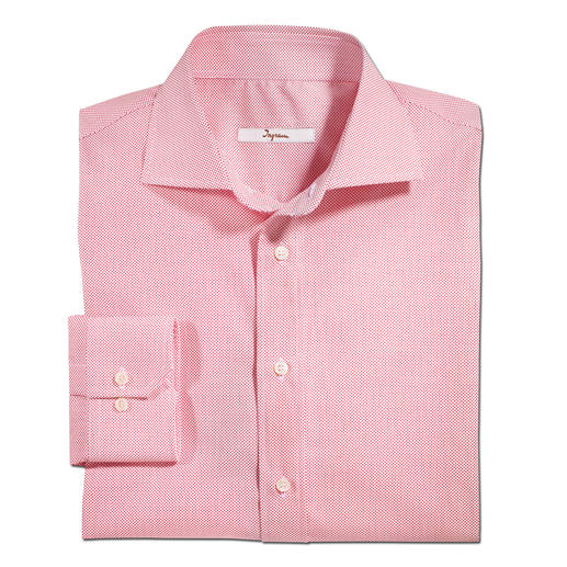 Ingram Kaviartupfen-Hemd - Selten ist ein gemustertes Hemd so gut zu kombinieren. Aktuelles Minimalmuster, dezent genug für das Business.