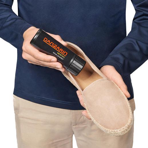 Danzarin Schuhpuder Barfuss im Schuh – aber nur mit dem Schuhpuder argentinischer Tango-Tänzer.