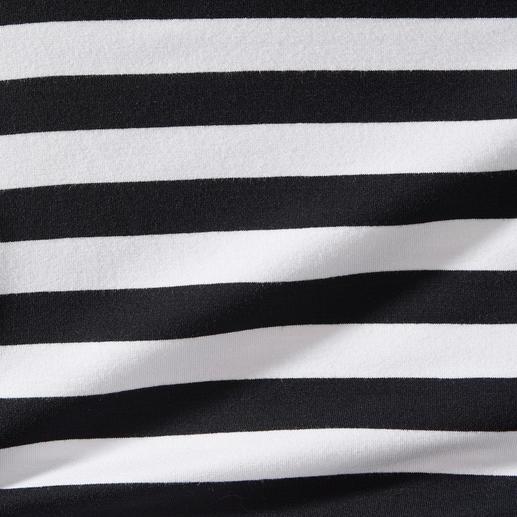 Zauber-Wickelshirt Das Zauber-Shirt. Nur richtig in Schwarz/Weiss.