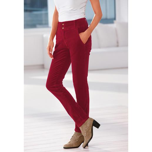 Cotton-Line Edel-Cordhose Nie war Cord so schön: Modal und Kaschmir machen diese Hose so herrlich weich und farbbrillant.