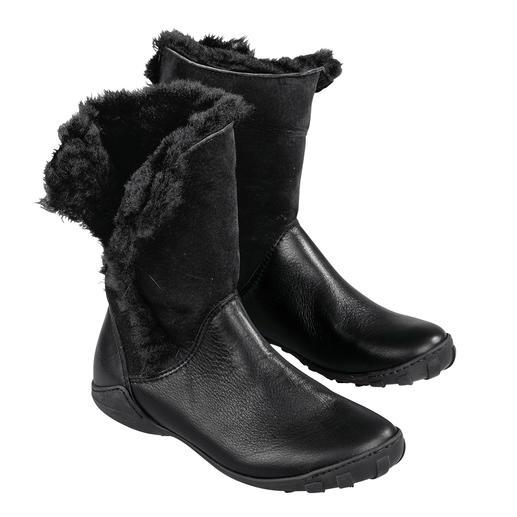 Arcus Lammfell-Stulpen-Stiefel - So bequem sind winterwarme, wetterfeste Stiefel nur selten. Von Arcus, Frankreich.