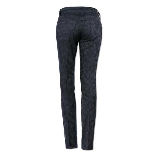 S.O.S Jacquard-Jeans - Viel langlebiger als die meisten modischen Muster-Jeans. Und viel eleganter.