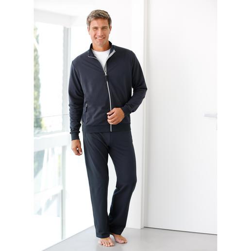 Coolmax®-Fitnessanzug Das Gefühl reiner Baumwolle – und den Klima-Komfort von Coolmax®.