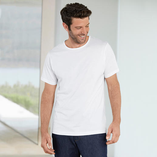 Sunspel-Shirt Das feine Untershirt für den Gentleman. Von Sunspel in England.