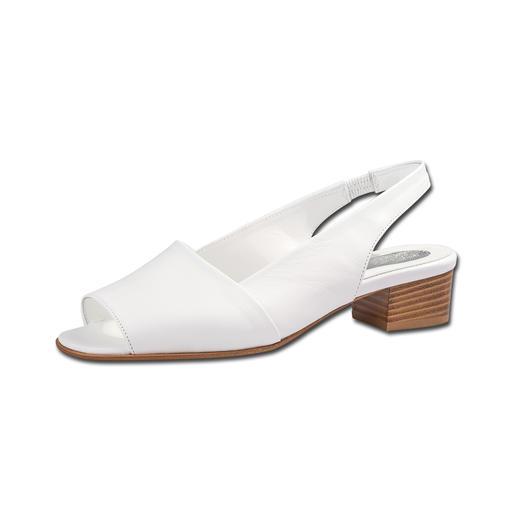 Mario Arpili Sandalette Die perfekte Sandalette:Zeitloses Design. Seit über 20 Jahren vollendete Passform. Ideal zu allen Sommer-Looks