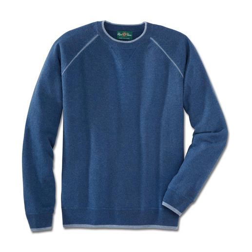 Alan Paine Kaschmir-Sweatshirt - Bequem wie Ihr Lieblings-Sweatshirt. Aber aus feinstem mongolischen Kaschmir.