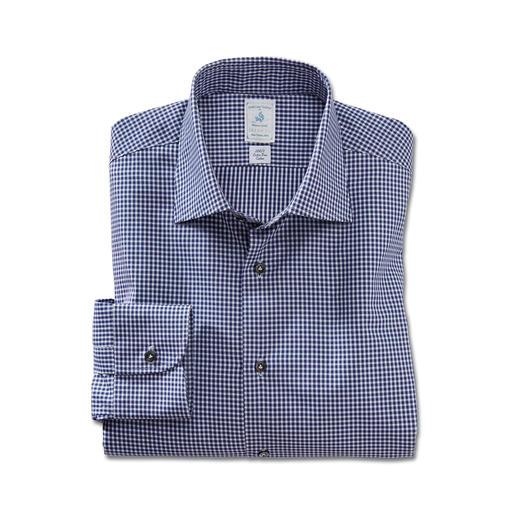Delsiena GIZA-Baumwollhemd 80 Kilometer feinstes Garn machen dieses Hemd so unvergleichlich weich. Aus seltener GIZA 87-Baumwolle